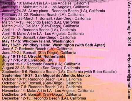 00--2015 Schedule
